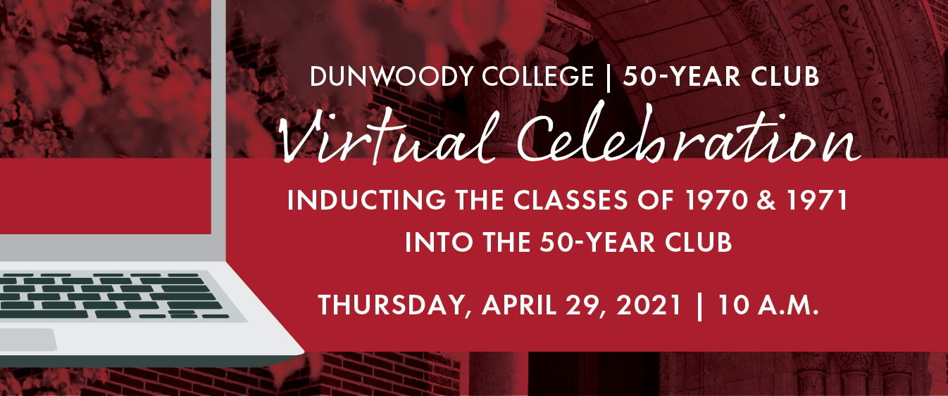 50-Year Club Virtual Celebration - Thursday, April 29, 2021