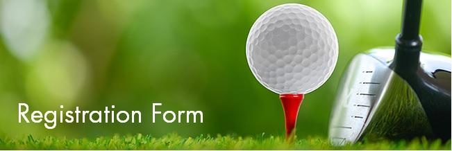 Alumni & Friends Golf Registration Form